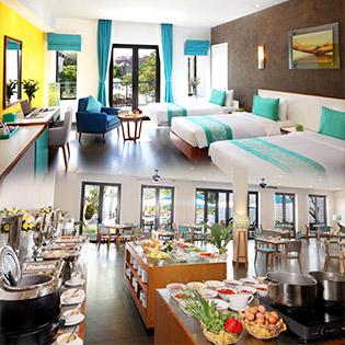 ÊMM Hotel Hội An 3* 3N2Đ Phòng Superior – Tặng Kèm Bữa Trưa Hoặc Bữa Tối Theo Set Menu Cho 2 Người