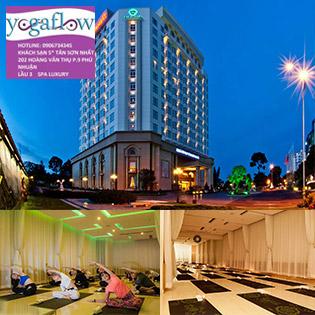 Yoga Flow & Spa Luxury - Trọn Gói 15 Buổi Tập Yoga Trong Không Gian Sang Trọng Đẳng Cấp 5* KS Tân Sơn Nhất