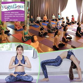 Yoga Flow Quận 1 - Trọn Gói 15 Buổi Tập Yoga Đẳng Cấp 5* –  Miễn Phí Xông Hơi