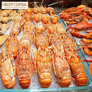 Buffet Tối Cuối Tuần Tôm Hùm Hải Sản Cao Cấp BBQ Không Giới Hạn - Liberty Central Saigon Riverside