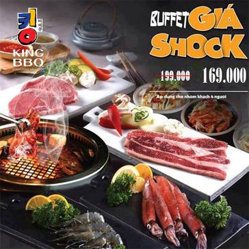 King BBQ Hàng Tre - Nướng Thịt Thả Ga Không Lo Về Giá - Menu 199K - Vua Nướng Hàn Quốc