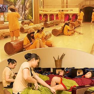 Xả Stress Kiểu Hàn Cùng Gia Đình Với Jjim Jij Bang + Massage Foot Tại Golden Lotus Quận 3