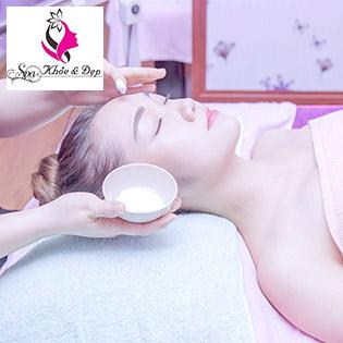 Couple Nam – Nữ: (100') Độc Quyền 9 Bước Massage Body Đá Nóng, Ngâm Chân Muối Gừng + Chăm Sóc Da Mặt Chỉ Có Tại Khỏe Và Đẹp Spa