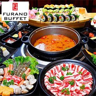Buffet Tối/ Trưa Sushi Và Lẩu Nhật Bản Không Giới Hạn - Miễn Phí Buffet Line Dimsum & Tráng Miệng Tại Nhà Hàng Furano Sushi