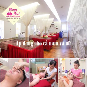 Combo Chăm Sóc Da Mặt Chuyên Sâu Kết Hợp Massage Bấm Huyệt Chữa Đau Mỏi Cổ Vai Gáy Tặng 1 Suất Ăn Nhẹ Tại Hương Sen Healthcare Center