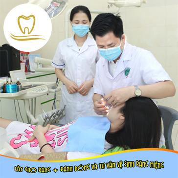 Lấy Cao Răng + Đánh Bóng Và Tư Vấn Vệ Sinh Răng Miệng Tại Nha Khoa Quốc Tế Việt Mỹ