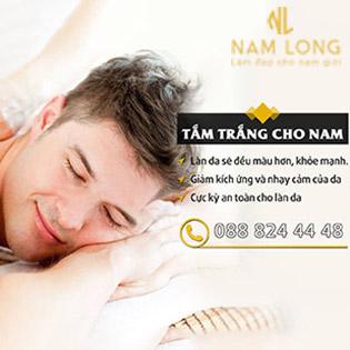 Tắm Trắng Phi Thuyền Cho Nam – Nam Long Clinic – Làm Đẹp Cho Nam Giới