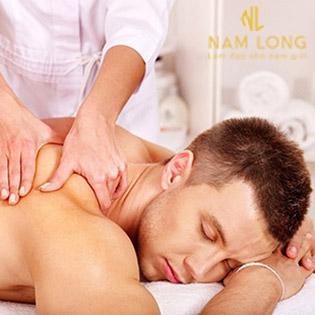 Massage Body/ Foot Cho Nam + Xông Hơi + Bấm Huyệt Tại Nam Long Clinic - Làm Đẹp Cho Nam Giới