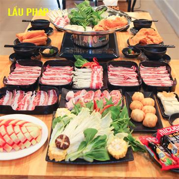 Buffet Lẩu Siêu Ngon Giá Hấp Dẫn Tại Nhà Hàng Lẩu Pháp 65 Nguyễn Khang