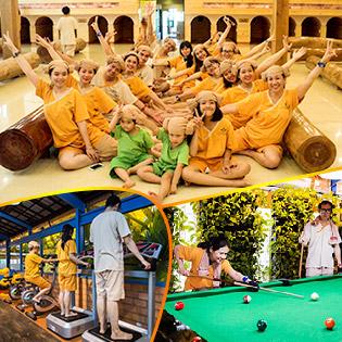Xả Stress Và Làm Đẹp: Jjim Jil Bang + Chà Da Sáng Mịn tại Golden Lotus Quận 3