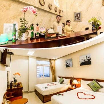 Khách Sạn Suite De Ville Đà Nẵng 3*, Gần Biển - 2N1Đ Miễn Phí Ăn Sáng Buffet