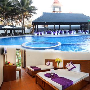 Khách Sạn TTC Premium Kê Gà 4* + Phòng Superior 2N1Đ Dành Cho 2 Khách - Bao Gồm Ăn Sáng
