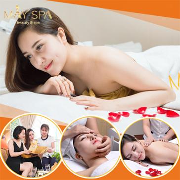 Combo Chăm Sóc, Thư Giãn Massage Body Đả Thông Kinh Lạc + Chăm Sóc Da Mặt Chuyên Sâu Tại May Spa