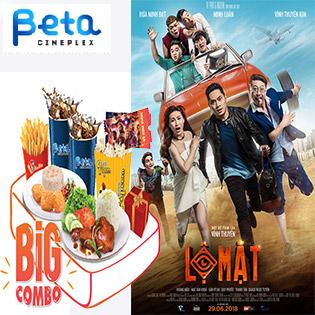 Big Combo 2 Vé Xem Phim Cực Hay Ăn Uống No Say Tại Cụm Rạp Beta Cineplex Trên Toàn Quốc