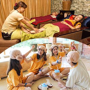 Xả Stress Kiểu Hàn – Jjim Jil Bang & Massage Foot 60' – Golden lotus Q.7
