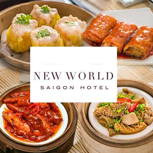 New World Saigon Hotel 5* - Buffet Dimsum Hơn 40 Món Đẳng Cấp Tại Nhà Hàng Dynasty
