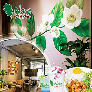 Nara Coffee – Không Gian Đẹp Cho Hẹn Hò Lãng Mạn