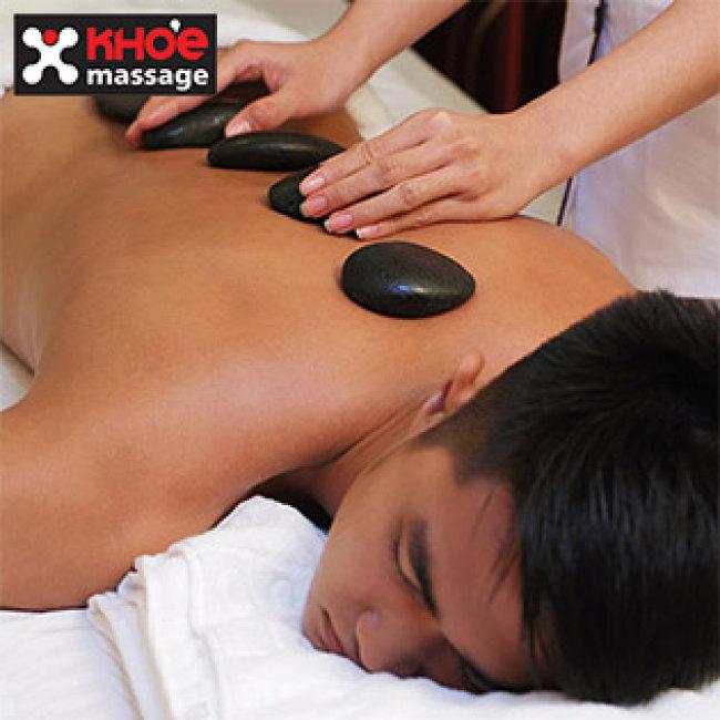 Không Nhận Tiền Tip - KHỎE Massage - Bấm Huyệt Shiatsu Kiểu Nhật Kết Hợp Thái Massage Và Massage Đá Nóng - Tặng Xông Chân Thảo Dược + Nước Uống