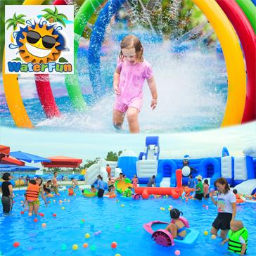 Công Viên Nước Water Fun - Vé Trọn Gói Tham Gia Tất Cả Các Trò Chơi Tại Công Viên Nước Lớn Nhất Việt Nam
