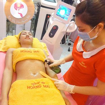 Giảm Béo Siêu Tốc CN New HIFU Body, 5 Tặng 1, Tặng Liệu Trình Đào Thải Mỡ RF - TMV Hoàng Mai