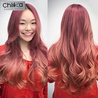 Chika Beauty Salon - Trọn Gói Gội + Sấy + Massage + Hấp Dưỡng Keratin