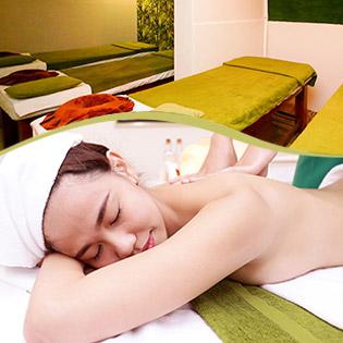 Miễn Tip - (70') Massage Body Đá Muối Himalaya/ Dầu Dừa + Thanh Tẩy Da Mặt Mỹ Phẩm Pháp - Ni Beauty Spa
