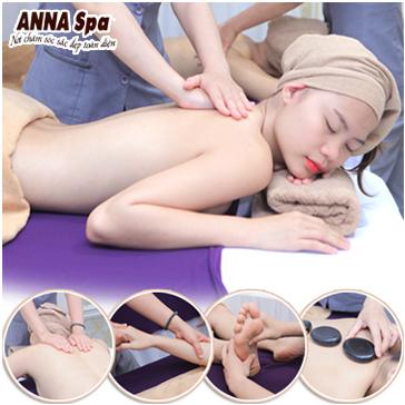 Thư Giãn Cơ Thể Với Gói Massage Body Kết Hợp Tẩy Da Chết Toàn Thân Tại Anna Beauty Spa