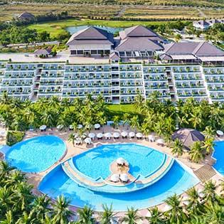 Sea Links Beach Hotel Mũi Né 5* 2N1Đ Phòng Superior Pool View Bao Gồm Ăn Sáng + Ăn Trưa