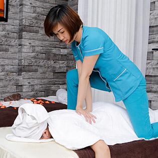 (150') Massage Body + Foot + Xông Hơi Giảm Béo + Chăm Sóc Da Mặt + Đắp Mặt Nạ - May Spa & Beauty