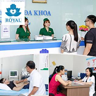Đa Khoa Royal - Khám Và Tư Vấn Sức Khỏe Sinh Lý Với Bác Sỹ Riêng - Phòng Khám Việt Vì Sức Khoẻ Việt
