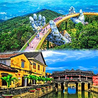 Tour Đà Nẵng - Hội An - Bà Nà 3N2Đ, Khách Sạn 4* + Bao Gồm Vé Máy Bay Khứ Hồi, Khởi Hành Hàng Ngày Cho 01 Người