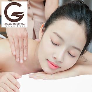 Massage Toàn Thân Giảm Căng Thẳng, Mệt Mỏi, Lưu Thông Khí Huyết Tại Grassy Beauty Spa