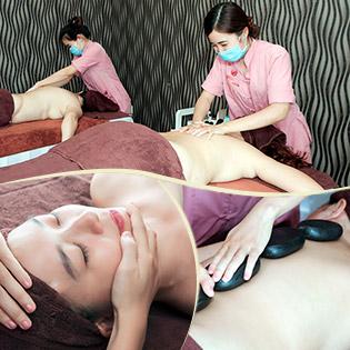 Massage Body Thư Giãn + Chăm Sóc Da Mặt Tại Sunflower Healthy Spa
