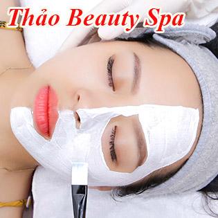 100 Phút Chạy Serum, Collagen Trắng Mịn, Căng Bóng, Thải Độc Da/ Điều Trị Mụn Thâm Tại Thảo Beauty Spa