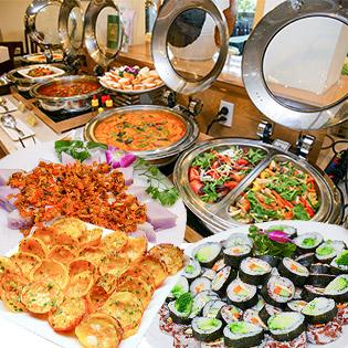 Buffet Trưa Chay An Lạc Mùa Vu Lan - Nhà Hàng Chay Cỏ Nội