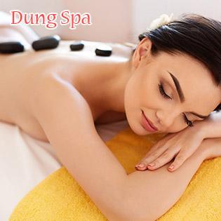 (75') Massage Body + Foot + Đắp Mặt Nạ - Tặng Xông Hơi - Dung Spa