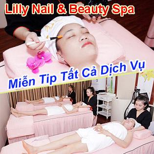 Độc Quyền 13 Bước 100 Phút Massage Body, Foot Thụy Điển Đá Nóng + Chăm Sóc Da Mặt + Nạ Thiên Nhiên - Lilly Nail & Beauty Spa