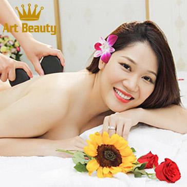 Miễn Tip - Độc Quyền 15 Bước 90 Phút Massage Body, Foot Thái Đá Nóng, Chăm Sóc Da Mặt Tại Art Beauty Spa