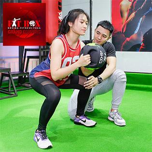 Gym Fitbox Phòng Tập 5* Đẳng Cấp Quốc Tế - Trọn Gói 1 Tháng Tập Gym, Yoga, Kick Boxing Không Giới Hạn - Miễn Phí Xông Hơi