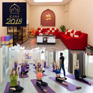 Thẻ Tập Yoga 10 Buổi Tại Hệ Thống Gana Yoga Center (Giáo Viên Ấn Độ + Giáo Viên Việt Nam Giàu Kinh Nghiệm