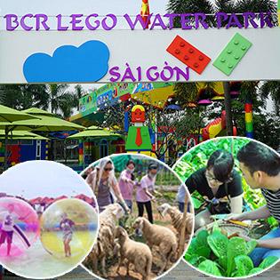 Trọn Gói Combo Lego Nước Tại Khu Du Lịch BCR