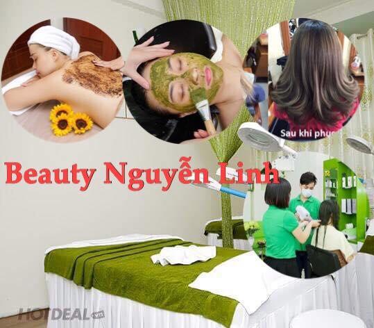 1 Combo 4 DV - Body Tẩy Dưỡng + Facial + Phục Hồi Keratin Tóc Cao Cấp + Gội Đầu Thư Giãn - Ưu Đãi Giới Hạn Chỉ Có Tại Beauty Center Nguyễn Linh