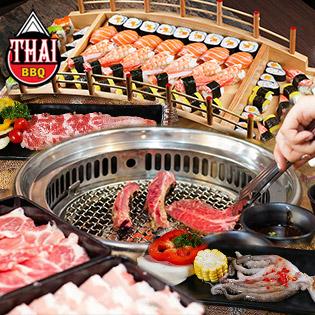Buffet Nướng Lẩu Thái Lan Hấp Dẫn Tại Thái BBQ Phạm Ngọc Thạch