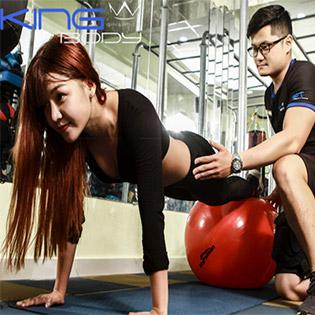 02 Tháng Tập Gym Không Giới Hạn Thời Gian Tại King Body Gym & Fitness