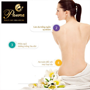 Panora Beauty Center 5* - Tắm Trắng Cao Cấp Bật 3 - 4 Tone Ngay Lần Đầu Tiên Nano Whitening Body