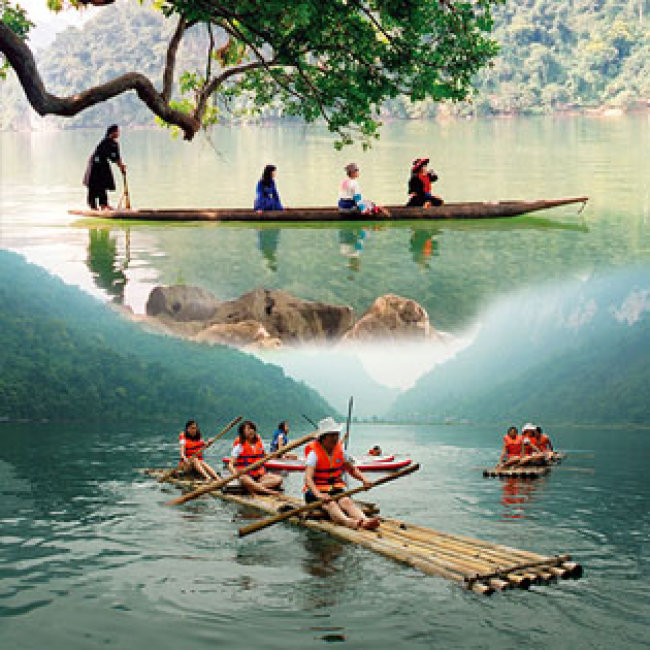 Tour Trọn Gói Hà Nội - Ba Bể - Bản Giốc - Động Ngườm Ngao - Pắc Pó - Leenin 3N2Đ - Cho 01 Người