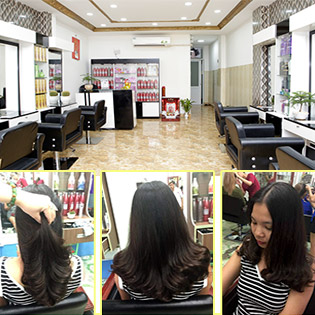 Combo Uốn/ Duỗi/ Nhuộm/ Dập Phồng Chân Tóc/ Phục Hồi Keratin/ Ủ Lụa Nano Chuẩn Cao Cấp Tại Hair Salon Chiến Pro