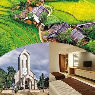 Tour Hà Nội - Sapa - Hàm Rồng - Cát Cát - 2N1Đ - Khách Sạn 3* Roxana - Khởi Hành Hàng Ngày