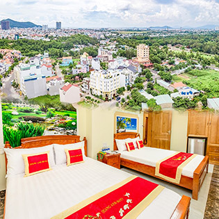 Quang Anh Hotel 2 Sao Vũng Tàu 2N1Đ – Bãi Sau – Gần Biển