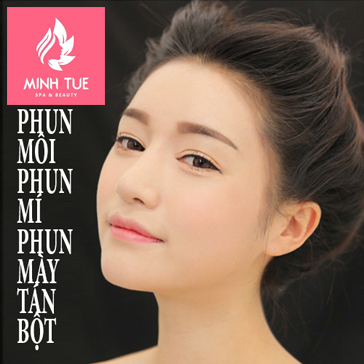 Đẹp Hoàn Hảo Với Phun Môi, Phun Mí, Phun Mày Tán Bột Tại Minh Tuệ Spa